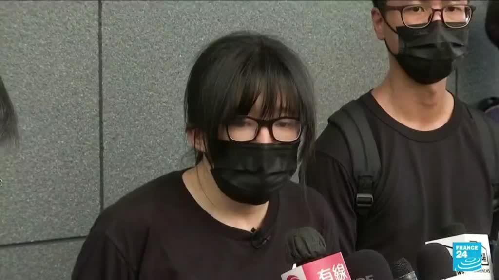 2021-09-08 13:44 Hong Kong police arrest Tiananmen vigil organisers