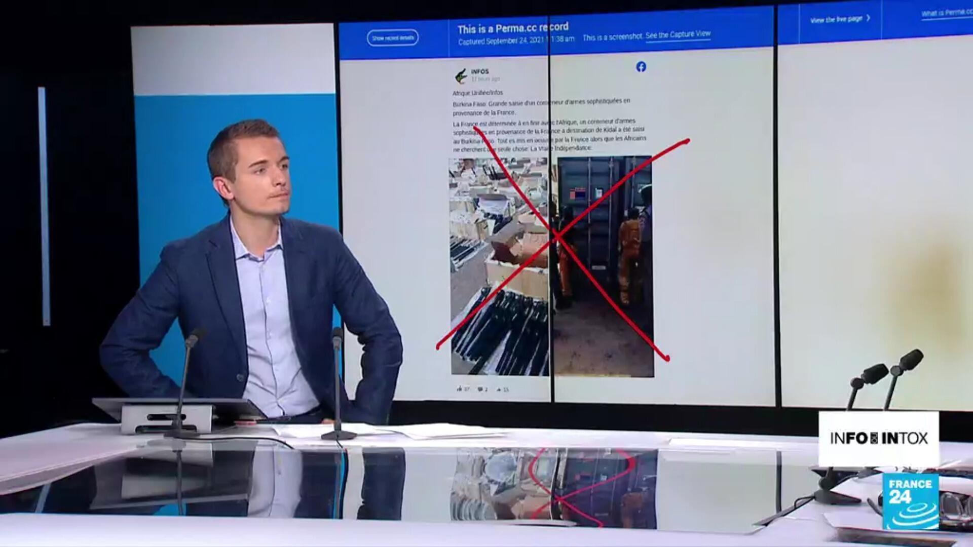 """Non, il ne s'agit pas d'un conteneur d'armes envoyé par la France aux """"terroristes"""" au Nord-Mali"""