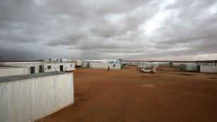 Un centre médical financé par l'ONU à la frontière jordano-syrienne, à proximité du camp de Rokbane, le 1er mars 2017.