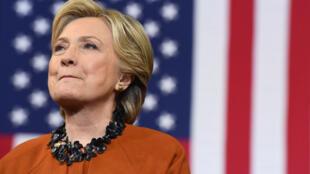 Hillary Clinton, le 27 octobre 2016.