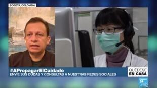 El doctor Carlos Pérez recomienda recurrir a las consultas médicas de manera virtual para las lecturas de radiografías y resultados de exámenes.