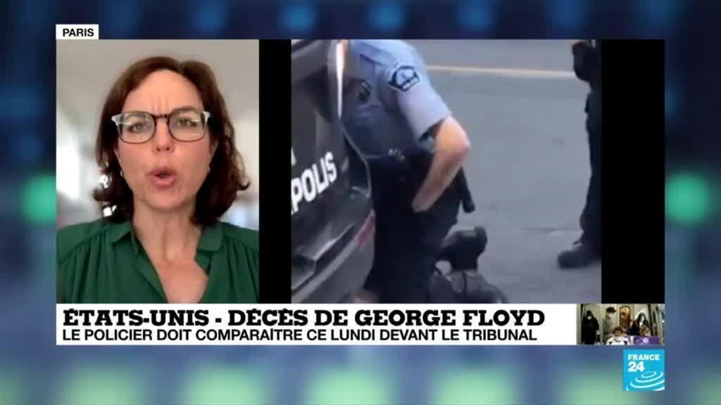 2020-06-01 12:06 Mort de Georges Floyd : le policier Derek Chauvin doit comparaître devant le tribunal