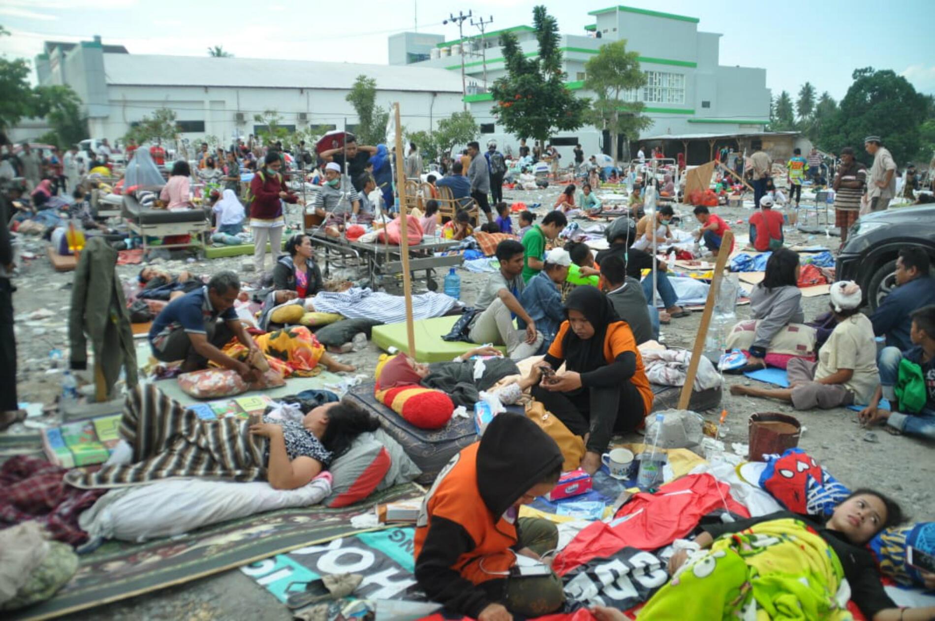 On estime que plus de 16 000 personnes ont été déplacées par la catastrophe.