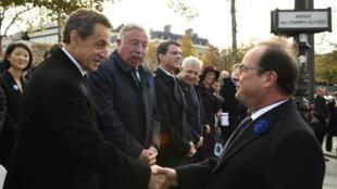 Cette année, pour la première fois, Nicolas Sarkozy a accepté l'invitation protocolaire à la cérémonie.