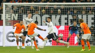 L'Allemagne a fait match nul contre les Pays-Bas, lundi 19 novembre 2018.