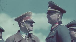 Hitler et son commandant en chef de l'armée de terre, Walther von Brauchitsch.