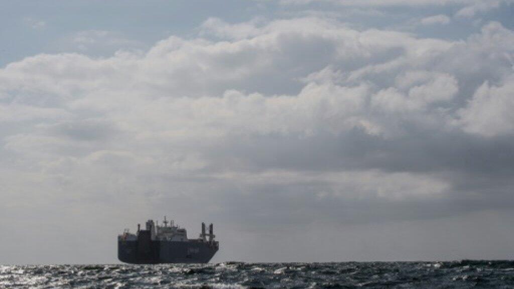 سفينة الشحن السعودية قبالة السواحل الفرنسية في التاسع من أيار/مايو 2019