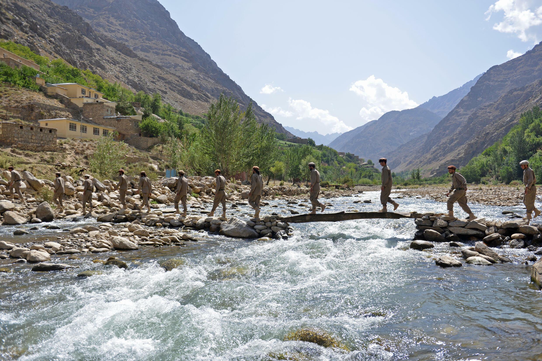 La vallée du Panjashir était le fief du célèbre commandant moudjahidine Ahmad Shah Masood, assassiné par al-Qaïda deux jours avant les attentats du 11 septembre 2001.