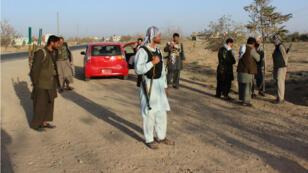 Des forces de sécurité afghanes à Kunduz, le 4 octobre 2016.
