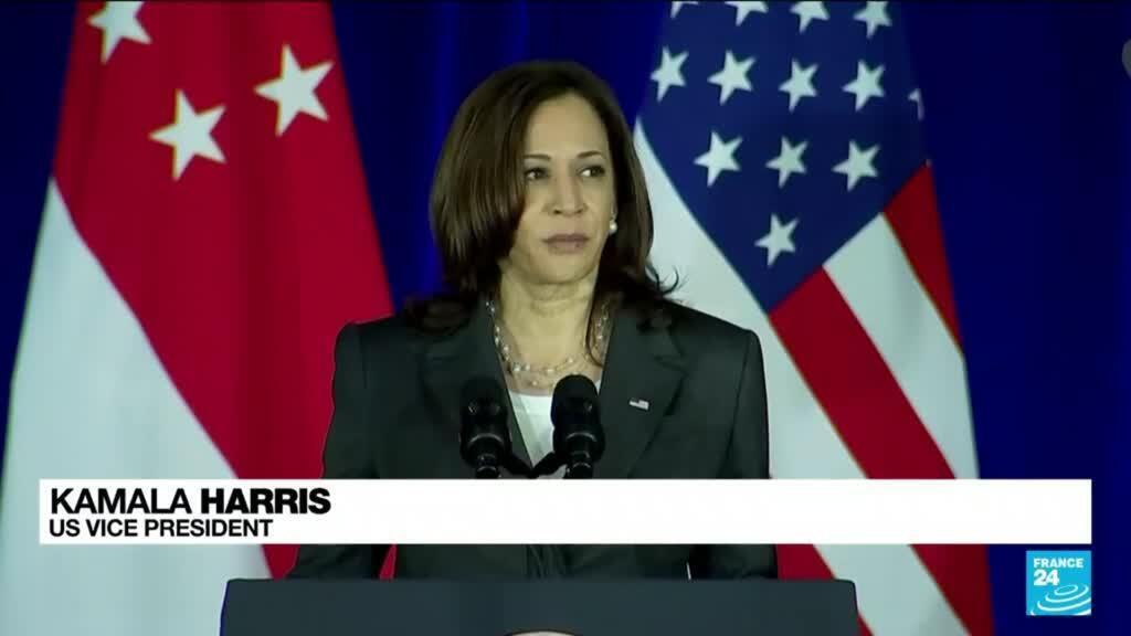 2021-08-25 13:38 US VP Harris accuses China of 'intimidation' in disputed seas