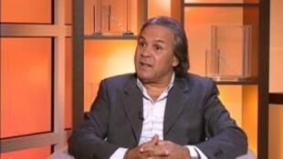 رابح ماجر مدرب المنتخب الجزائري لكرة القدم
