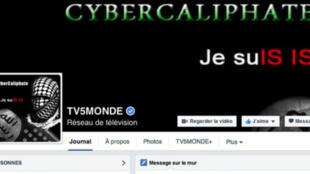 """L'attaque a eu lieu mercredi vers 22 h 00. TV5Monde semble avoir repris le contrôle de ses pages Facebook depuis minuit, mais son site Internet restait """"en maintenance"""" jeudi vers 07 h 00."""