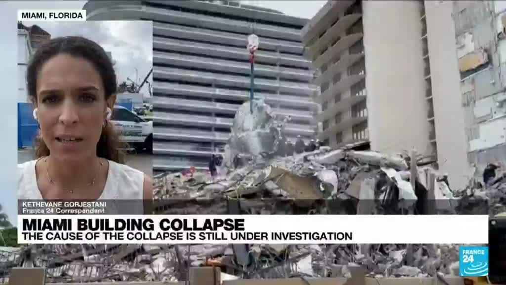 2021-06-30 16:01 Rescuers redouble efforts at collapsed Florida building, 149 still missing