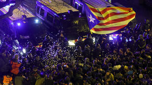 Tras conocerse sobre las detenciones se generaron disturbios en Cataluña para exigir la liberación de los líderes