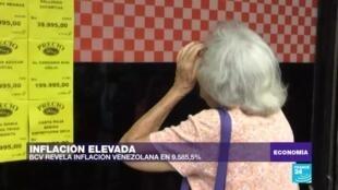 Economía, inflación venezuela