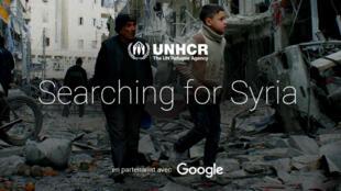 """Didactique et interactif, """"Searching for Syria"""" tente de répondre aux cinq questions les plus posées par les internautes sur la crise des réfugiés syriens."""