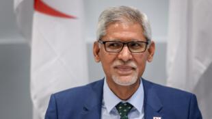 Jagan Chapagain, secretario general de la Federación Internacional de Sociedades de la Cruz Roja y de la Media Luna Roja (FICR), el 22 de julio de 2020 en Ginebra