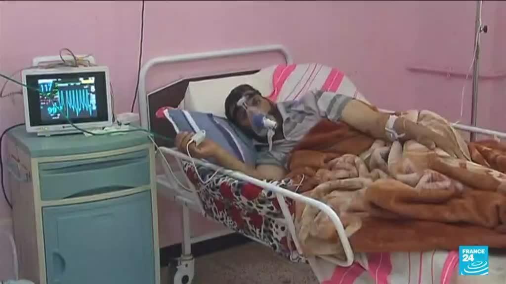 2021-07-30 10:08 Covid-19 en Algérie : flambée des cas et pénurie d'oxygène