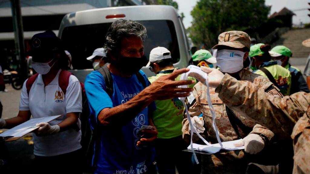 Imagen de Guatemala, país al que cerró un punto fronterizo Honduras este sábado, después de un positivo entre un trabajador de salud.