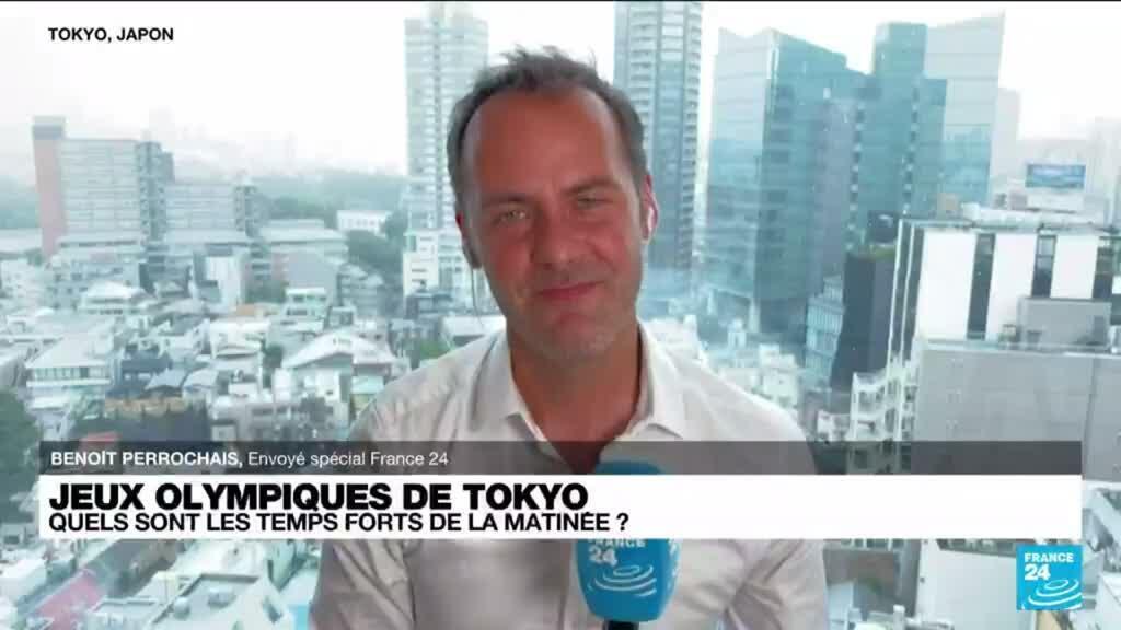 2021-07-27 06:10 Jeux olympiques de Tokyo : les temps forts de ce mardi matin
