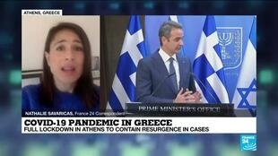 2021-02-11 08:10 Greece PM orders full lockdown in Athens after surge in Covid-19 cases