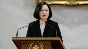 La présidente taïwanaise, Tsai Ing-wen, est inquiète face aux dernières déclarations du président chinois Xi Jinping.