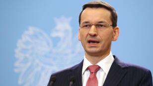 Le Premier ministre polonais Mateusz Morawiecki.