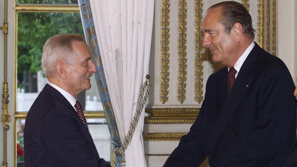 Jérôme Monod a suivi Jacques Chirac dans son ascension politique jusqu'à l'Elysée
