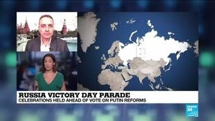 2020-06-24 11:31 Russia holds Victory Day parade ahead of reform vote