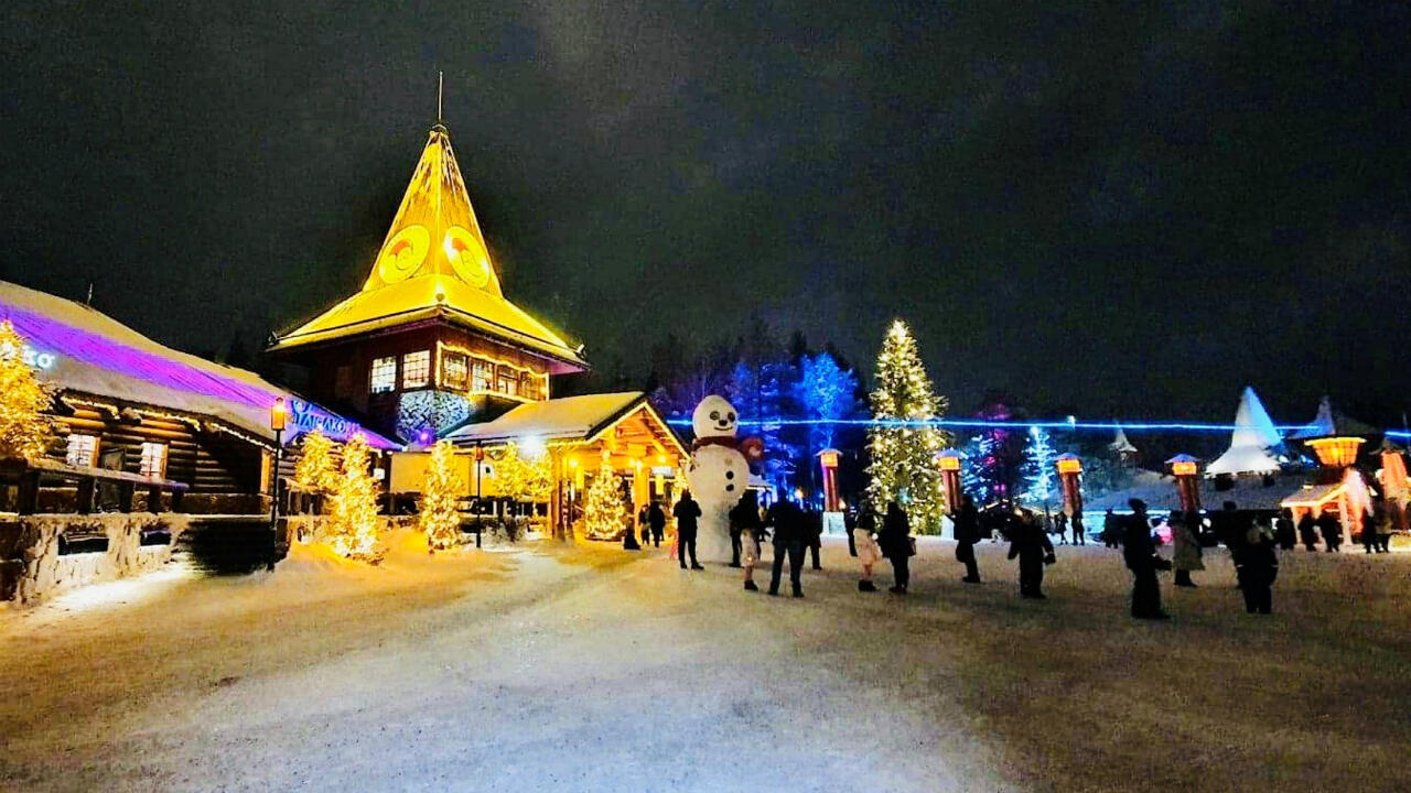 Rovaniemi Finland Lapland Christmas Santa Claus Office