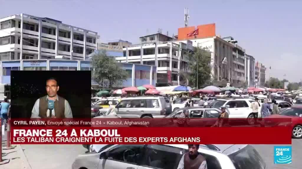 2021-08-24 18:09 Afghanistan : les Taliban craignent la fuite des experts Afghans