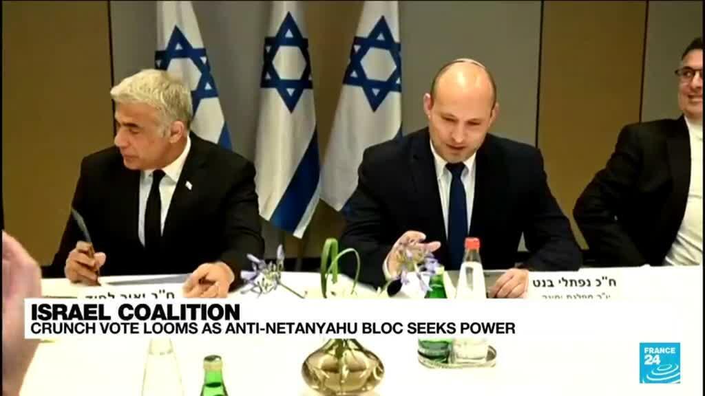 2021-06-07 15:06 Israel crunch vote looms as anti-Netanyahu bloc seeks power