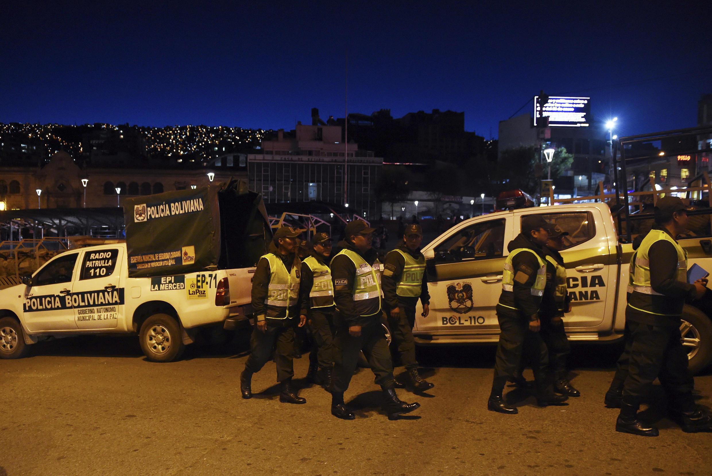 الشرطة البوليفية.
