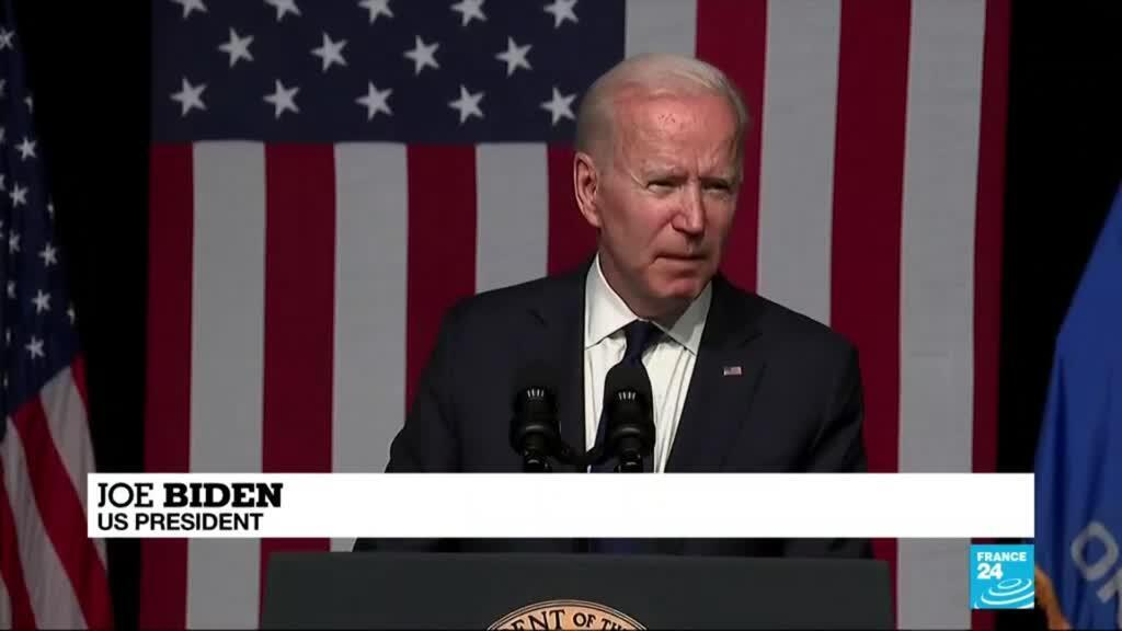 2021-06-02 08:03 Biden decries 'horrific' Tulsa massacre in emotional speech