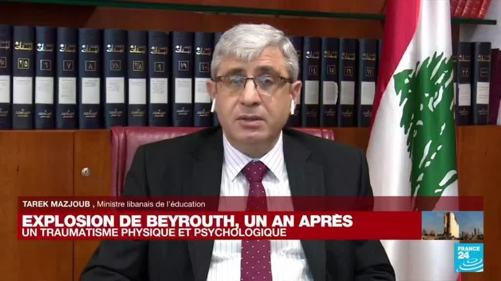 2021-08-04 13:24 Explosion de Beyrouth, un an après : un traumatisme physique et psychologique, notamment chez les enfants