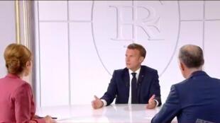 Itw de Macron
