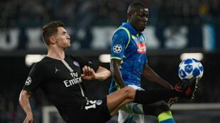 Le PSG et Naples se sont quittés sur un score nul (1-1).