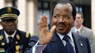 Le président camerounais Paul Biya, au pouvoir depuis 1984 (archives).