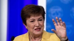 La directora general del FMI Kristalina Georgieva, el 4 de marzo de 2020 en Washington