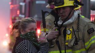 El distanciamiento social será complicado y a veces imposible en el combate de incendios