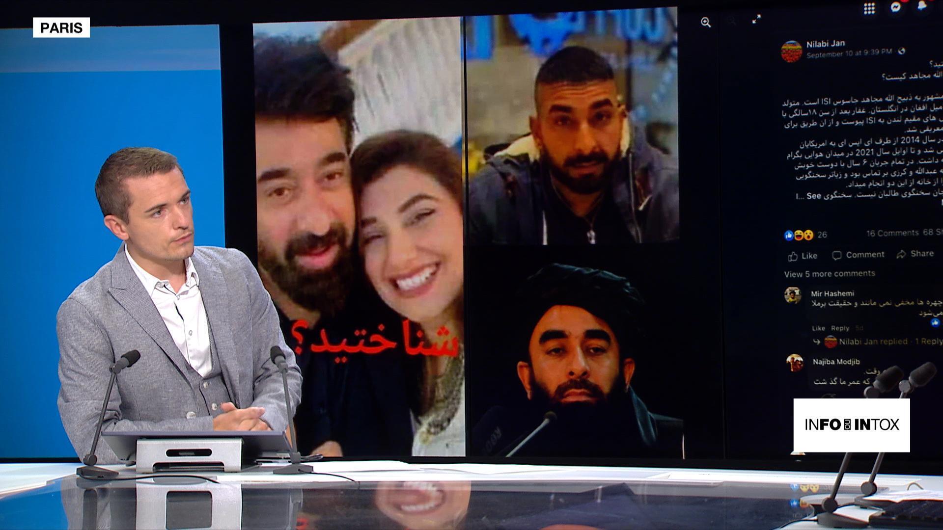 """Rumeurs sur la """"double-vie"""" du porte-parole des Taliban"""