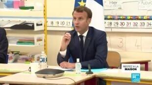 2020-05-05 17:01 Déconfinement : Macron tente de rassurer sur la réouverture des écoles