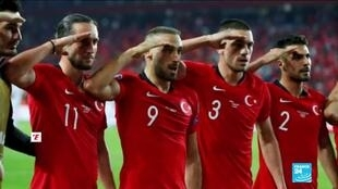 2019-10-14 14:46 Euro 2020 qualifier: Controversy overshadows France vs Turkey game