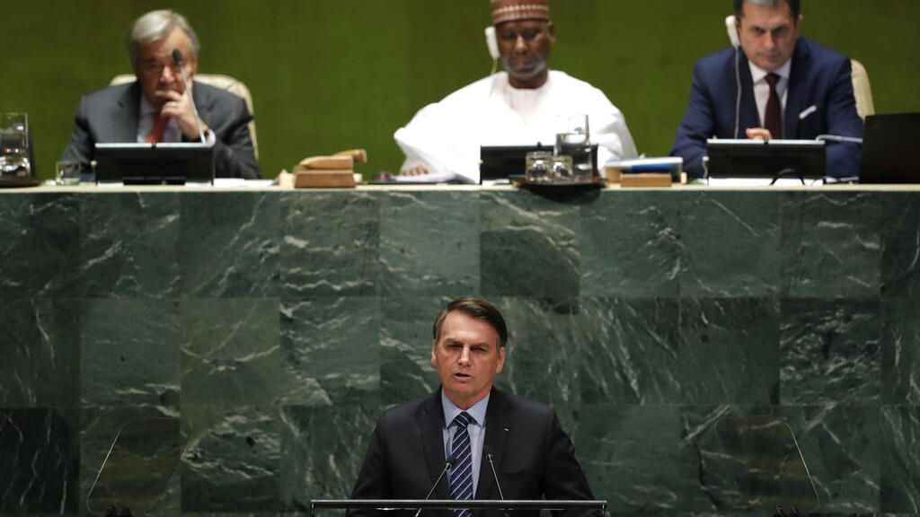 'Fallacy' to say Amazon is the heritage of humankind, Bolsonaro says