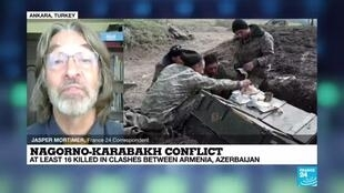 2020-09-28 08:04 Nagorno-Karabakh conflict: At least 16 killed in clashes between Armenia and Azerbaijan
