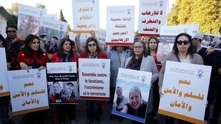 وقفة تضامنية أمام السفارة الدانماركية بالرباط استنكارا لجريمة قتل السائحتين الاسكندينافيتين – 22 ديسمبر 2018
