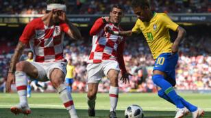 Après trois mois d'absence pour blessure, Neymar a brillé dimanche soir à Liverpool.