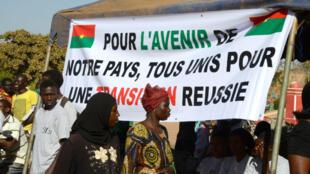 Les partis se réclamant de l'héritage de Blaise Compaoré ont décidé de ne plus participer au processus de transition politique au Burkina Faso.