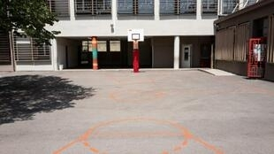 Le collège Edouard Herriot de Villeurbanne, le 27 juin 2019