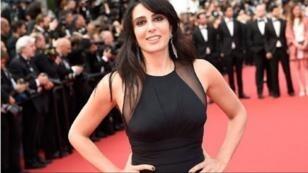 المخرجة اللبنانية نادين لبكي على البساط الأحمر في مهرجان كان السينمائي
